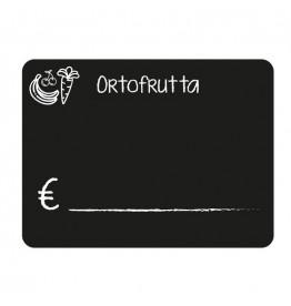 10 pz - Lavagnette segnaprezzi Ortofrutta 7X10